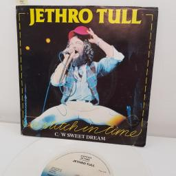 "JETHRO TULL, a switch in time, B side sweet dream, WHITE VINYL, CHS 2260, 7"" single"