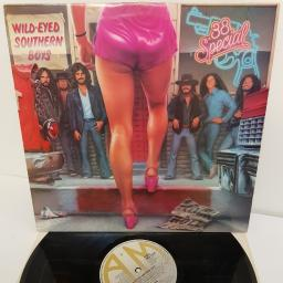 """.38 SPECIAL, wild-eyed southern boys, AMLH 64835, 12"""" LP"""