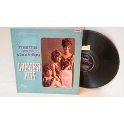 MARTHA AND THE VANDELLAS greatest hits, TML 11040