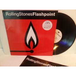 Rolling Stones FLASHPOINT, contains 12 page booklet