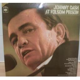 Johnny Cash AT FOLSOM PRISON. First UK stereo pressing, 1968