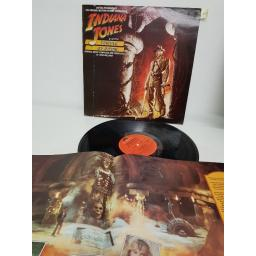 "JOHN WILLIAMS, indiana jones and the temple of doom the original motion picture soundtrack , POLH 8, 12"" LP"