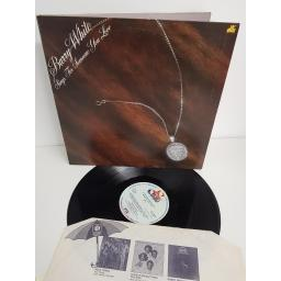 "BARRY WHITE, sings for someone you love, BTH 8004, 12"" LP"