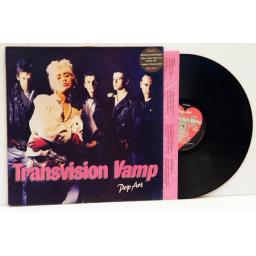 TRANSVISION VAMP, Pop Art.