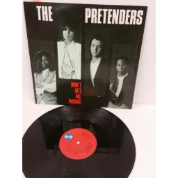 THE PRETENDERS don't get me wrong, 12 inch single, YZ85T