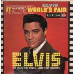 Elvis pesley IT HAPPENED AT THE WORLD'S FAIR