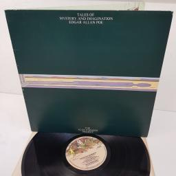 THE ALAN PARSONS PROJECT, tales of mystery and imagination - edgar allan poe, CDS 4003, 12 inch LP