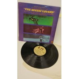 ANDRE PREVIN, THE LONDON SYMPHONY ORCHESTRA the music lovers - original motion picture soundtrack, SUAL 934110
