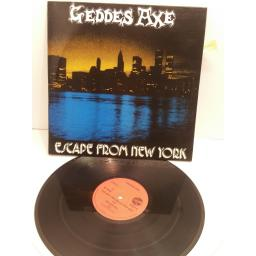 GEDDES AXE, escape from new york, BOLT 4
