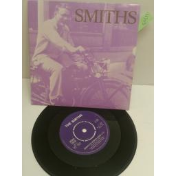 "THE SMITHS big mouth strikes again PICTURE SLEEVE 7"" SINGLE RT192"