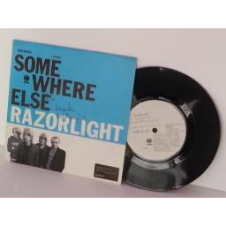 RAZORLIGHT somewhere else, 7 inch single