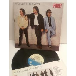 HUEY LEWIS AND THE NEWS fore! CDL1534