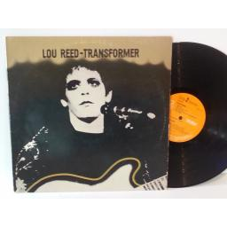 TOP COPY, FIRST UK PRESSING: Lou Reed TRANSFORMER