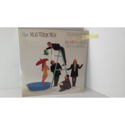 THE MAVERICKS music for all occasions, gatefold, MCA 11257