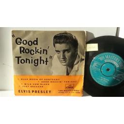 ELVIS PRESLEY good rockin' tonight, 7EG 8256, 7 inch single