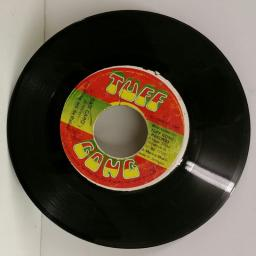 BOB MARLEY & THE WAILERS bad card, 7 inch single