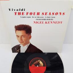 "Vivaldi, Nigel Kennedy, English Chamber Orchestra ‎– The Four Seasons · Le Quattro Stagioni · Die Vier Jahreszeiten · Les Quatre Saisons, 7 49557 1, 12"" LP"