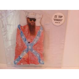 ZZ TOP STAGES, Die cut picture disc