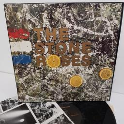 "THE STONE ROSES, the stone roses, ORE LP 502, 12"" LP"