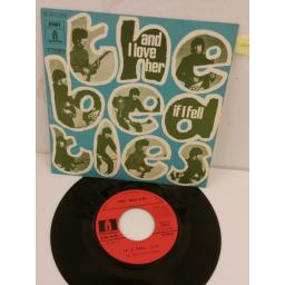 THE BEATLES and i love her / if i fell, 7 inch single, 2C 006 04464