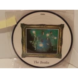 "THE BEATLES strawberry fields forever / penny lane, 7"" picture disc, RP 5570"