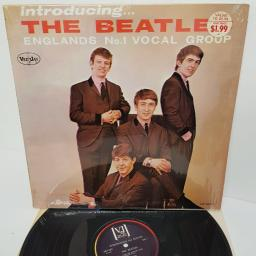 """THE BEATLES, introducing... the beatles, VJLP 1062, 12"""" LP"""