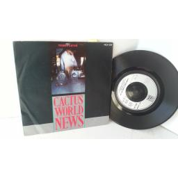 CACTUS WORLD NEWS years later, 7 inch single, MCA 1024
