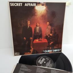 "Secret Affair ‎– Glory Boys, I-SPY 1, 12"" LP"