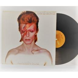 David Bowie ALADDIN SANE, with full colour lyric insert