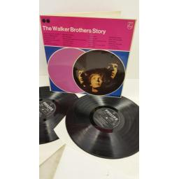 THE WALKER BROTHERS the walker brothers story, gatefold, 2 x lp, DBL 002