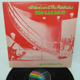"AL HUDSON & THE PARTNERS, you can do it, MCAT 511, 12"" SINGLE"