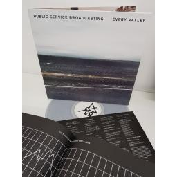 "SOLD : PUBLIC SERVICE BROADCASTING, every valley, PIASR970LPX, 12"" LP"