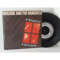 SIOUXSIE AND THE BANSHEES happy house, 7 inch single, POSP 117