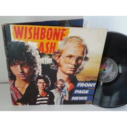 GREAT COPY: WISHBONE ASH front page news, gatefold, MCG 3524