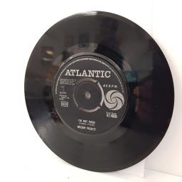 "WILSON PICKETT, in the midnight hour, B side I'm not tired, AT.4036, 7"" single"
