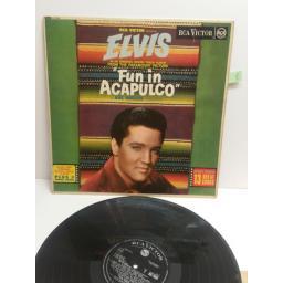"ELVIS PRESLEY fun in acapulkco ""NEW ORIGIANL SOUND TRACK ALBUM PLUS 2 BONUS SONGS"" RD-7609 MONO"