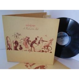 GENESIS a trick of the tail, gatefold, CDS 4001