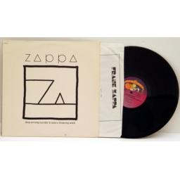 SOLD : Frank Zappa, Ship arriving late to save a drowning witch.