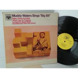 MUDDY WATERS muddy waters sings big bill, MAL 723