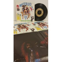 DOCTOR & THE MEDICS WITH ROY WOOD waterloo, 7 inch single, includes poster, IRM 125