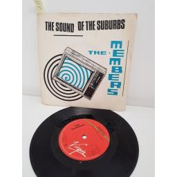THE MEMBERS, the sound of the suburbs, side B handling the big jets, VS 242, PICTURE SLEEVE, 7'' single