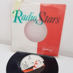 "RADIO STARS, from a rabbit, B side the beast no. 2, NS 36, 7"" single"