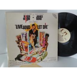 VARIOUS live and let die original motion picture soundtrack, UAS 29475