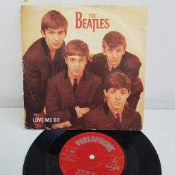 "THE BEATLES, love me do, B side P.S. I love you, 45-R 4949, 7"" single"
