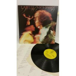 LABELLE nightbirds, lyric insert, EPC 80566