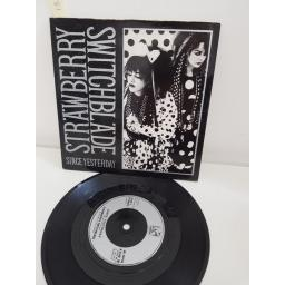 STRAWBERRY SWITCHBLADE, since yesterday, side B by the sea, KOW 38, PICTURE SLEEVE, 7'' single