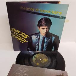 "BRYAN FERRY, the bride stripped bare, SD 19205, 12"" LP"
