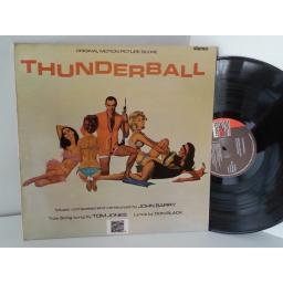JOHN BARRY James Bond, thunderball original motion picture soundtrack, SLS 50396