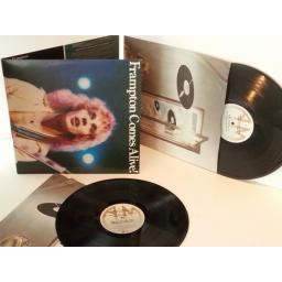 SOLD PETER FRAMPTON frampton comes alive! Vinyl LP, gatefold, double album