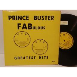 SOLD: PRINCE BUSTER fabulous greatest hits, MS1
